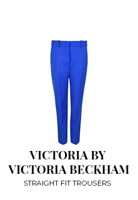 Victoria by Victoria Beckham straught fit trousers