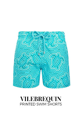 Vilebrequin printed swim shorts