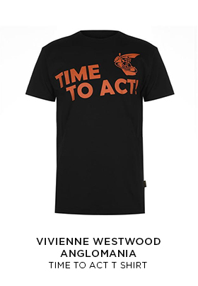 Vivienne Westwood Anglomania Time To Act T-shirt