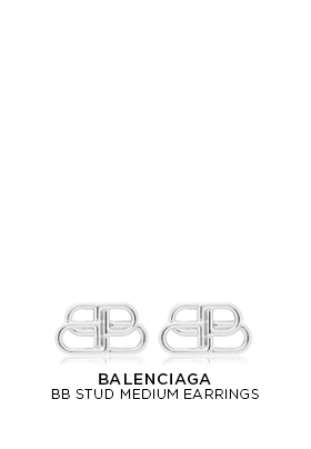 Balenciaga Bb Stud Medium Earrings