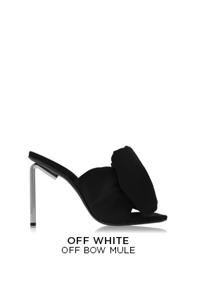 Off-White Off Bow Mule Ld11