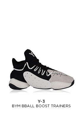 Y3 Bym ball boost trainers