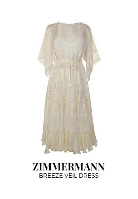 Zimmerman Breeze Veil Dress