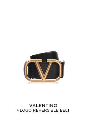 Valentino  Grainy Cowhide Vlogo Sandals