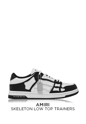 Amiri Skeleton Low Top Trainers